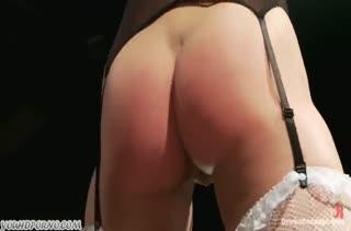 Брюнетка с большой жопой согласилась на БДСМ пытки